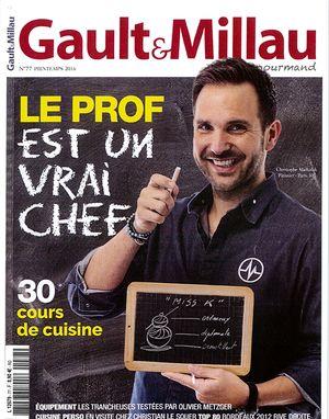 GAULT & MILLAU gourmand - Printemps 2016