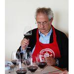 Wine critic Michel Bettane in Châteauneuf-du-Pape